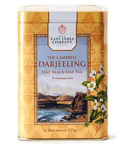 THE EAST INDIA COMPANY The Campbell Darjeeling loose leaf tea 125g