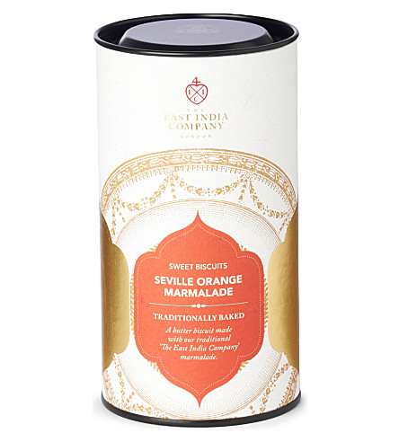 THE EAST INDIA COMPANY Seville orange marmalade sweet cookies