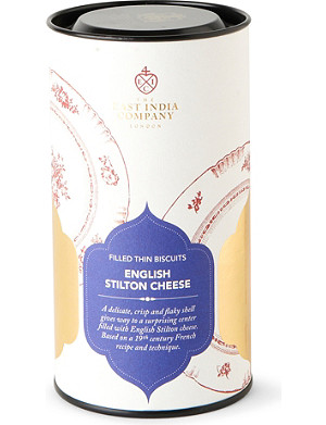 THE EAST INDIA COMPANY English stilton cheese biscuits