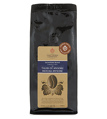 THE EAST INDIA COMPANY Tiger of Mysore coffee 250g