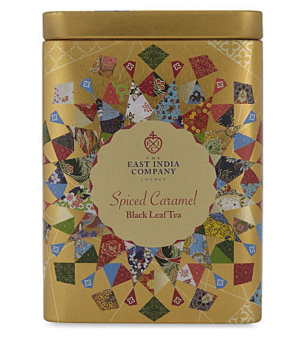 THE EAST INDIA COMPANY Spiced caramel black leaf tea 125g