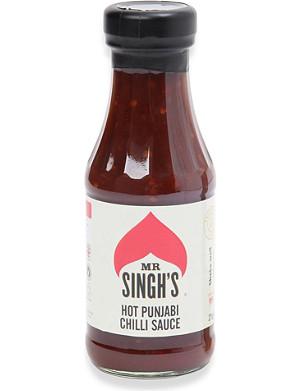 MR SINGH'S Hot Punjabi chilli sauce 250ml