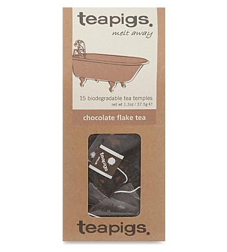 15 Chocolate flake tea bags