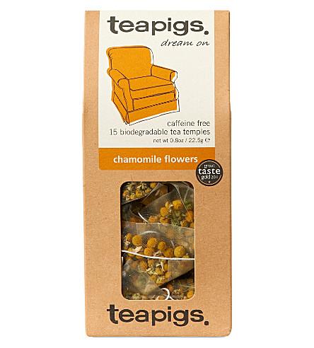 TEAPIGS Chamomile flowers tea temples 22.5g