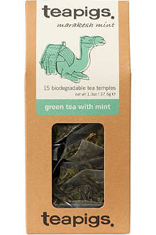 TEAPIGS Green tea with mint tea temples 37.5g