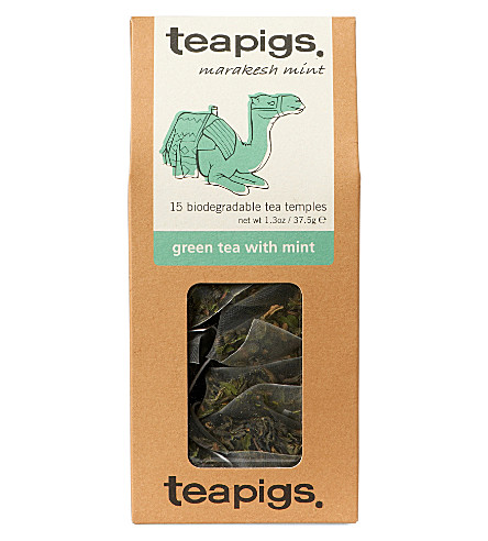 TEAPIGS Green tea with mint tea temples 37.5g