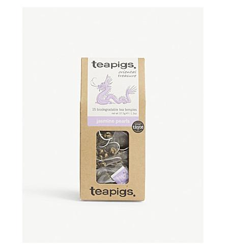 TEAPIGS Jasmine pearls tea temples 37.5g