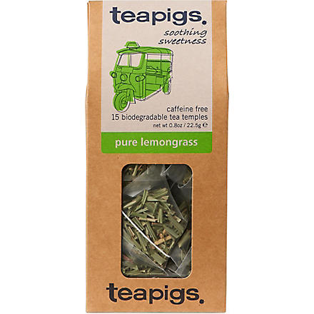 TEAPIGS Pure lemongrass tea temples 22.5g