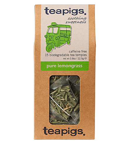 TEAPIGS Pure lemongrass tea temples 22.5g