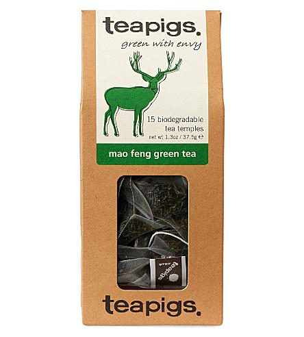 TEAPIGS Mao Feng green tea temples 37.5g