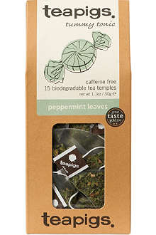 TEAPIGS Peppermint leaves tea temples 30g