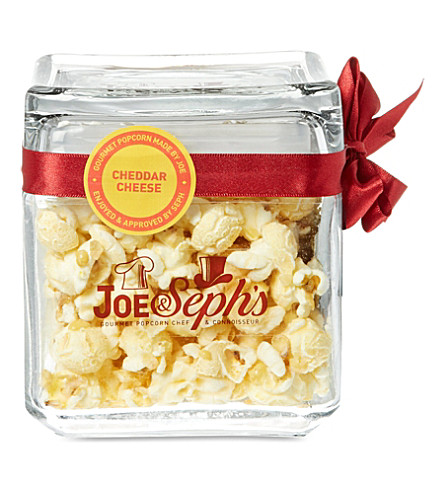 JOE & SEPH'S Cheddar Cheese popcorn