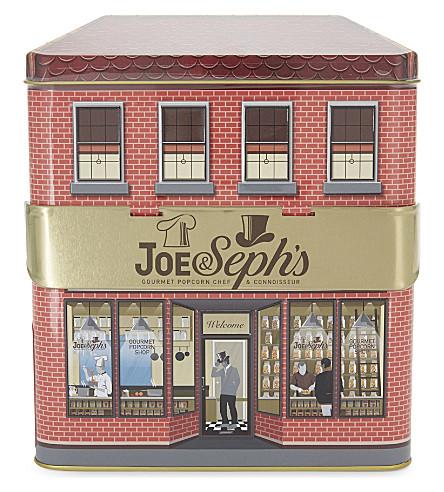 JOE & SEPH'S Gourmet Popcorn Shop gift tin 300g