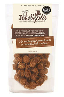 JOE & SEPH'S Caramel with Belgian chocolate popcorn 90g