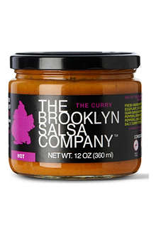 BROOKLYN SALSA The Bronx Curry hot salsa 340g