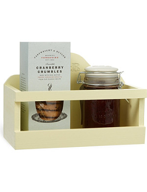 CARTWRIGHT & BUTLER Biscuit and preserve gift set 500g