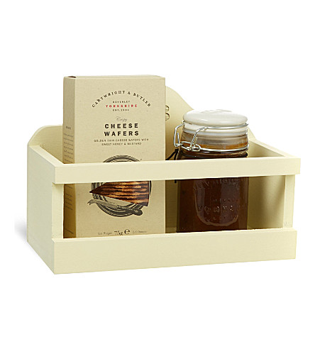 CARTWRIGHT & BUTLER Biscuits and chutney gift set 355g