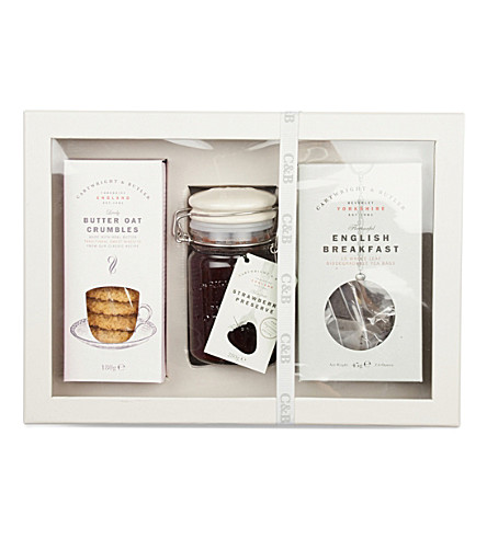 CARTWRIGHT & BUTLER Tea & preserves gift box