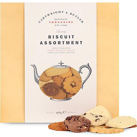 CARTWRIGHT & BUTLER Classic biscuit assortment 400g