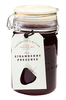 CARTWRIGHT & BUTLER Strawberry preserve 300g