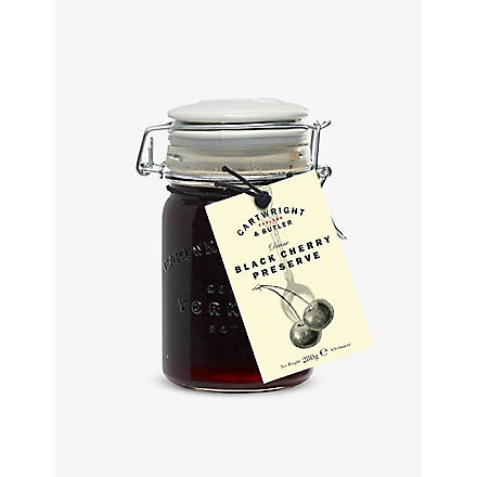 CARTWRIGHT & BUTLER Black cherry preserve 300g