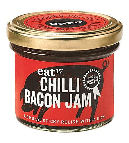 CONDIMENTS & PRESERVES Chilli Bacon Jam 110g