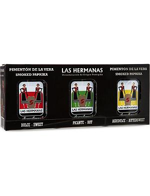 HERBS & SPICES Smoked paprika sampling kit 3x70g