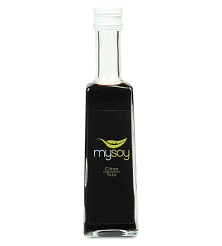 CONDIMENTS & PRESERVES Lemon & yuzu soy sauce 250ml