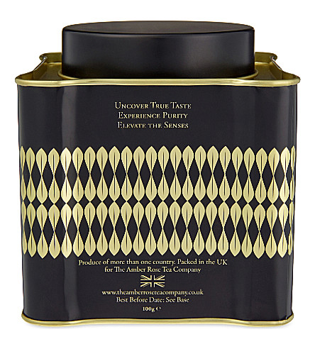 TEA Majesty black tea with 23ct gold leaf 100g