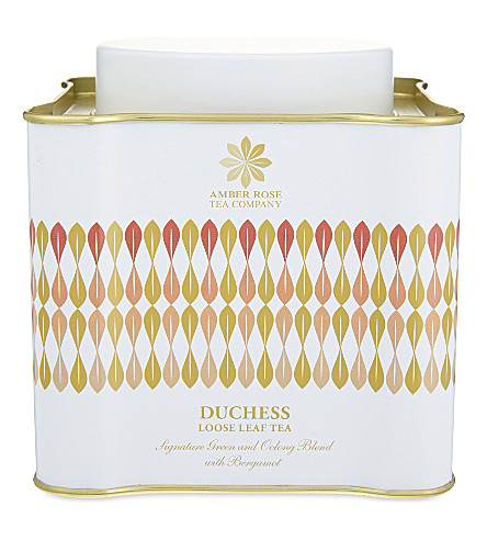 THE AMBER ROSE TEA COMPANY Duchess loose leaf tea 100g