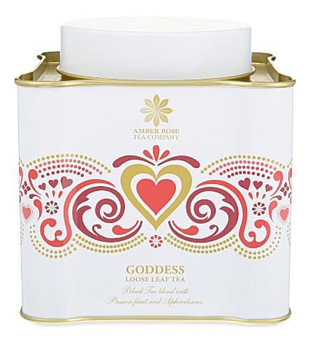 THE AMBER ROSE TEA COMPANY Goddess loose leaf tea 100g