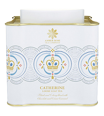 THE AMBER ROSE TEA COMPANY Catherine loose leaf tea 100g