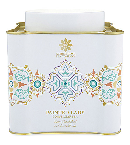 THE AMBER ROSE TEA COMPANY Painted Lady loose leaf tea 100g