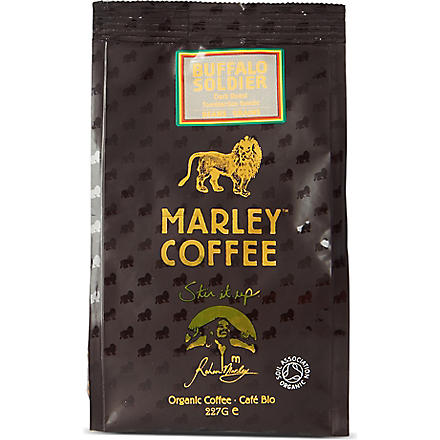 MARLEY COFFEE Buffalo Soldier organic coffee beans 227g