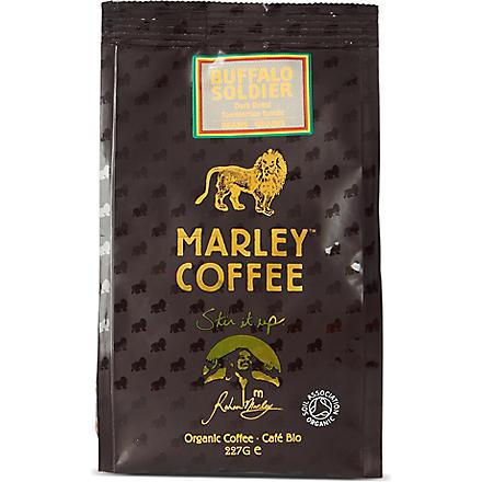 MARLEY COFFEE Buffalo Soldier organic coffee beans 227g