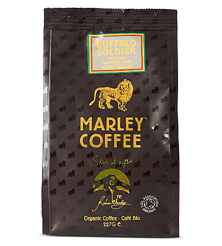 Buffalo Soldier organic coffee beans 227g
