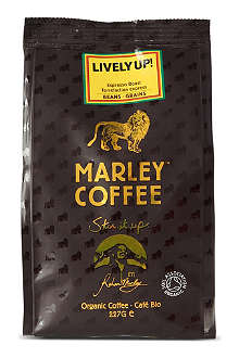 MARLEY COFFEE Lively Up organic coffee beans 227g