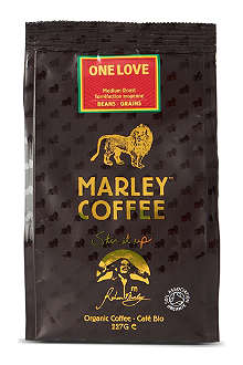 MARLEY COFFEE One Love organic coffee beans 227g