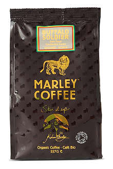 MARLEY COFFEE Buffalo Soldier organic ground coffee 227g