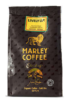 MARLEY COFFEE Lively Up organic ground coffee 227g
