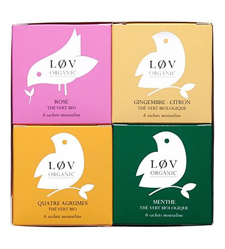 LOV ORGANIC I Løv China tea bags gift set 130g