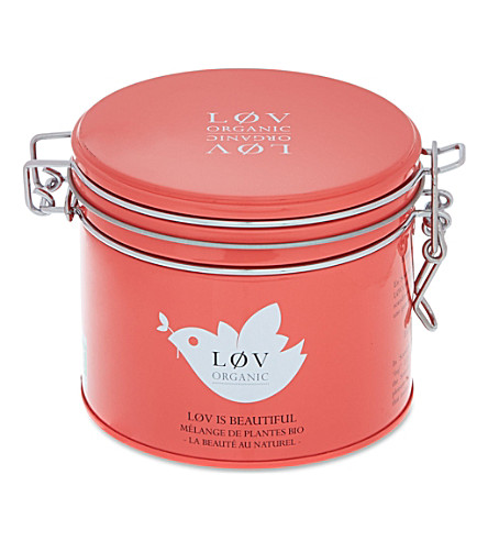 LOV ORGANIC Løv is Beautiful loose leaf organic tea 100g