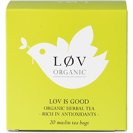 LOV ORGANIC Løv is Good teabags 44g