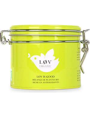 LOV ORGANIC Løv is Good loose tea caddy 100g