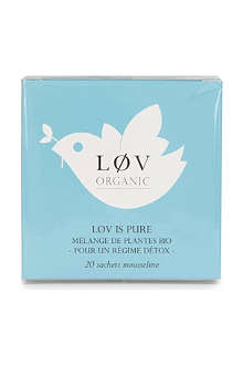 LOV ORGANIC Løv is Pure teabags 44g
