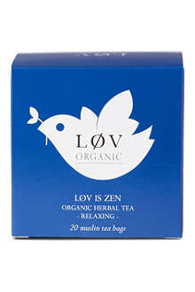 LOV ORGANIC Løv is Zen teabags 44g