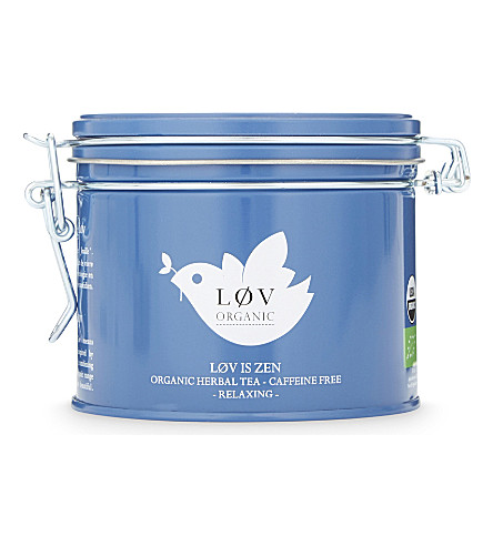 LOV ORGANIC Løv is Zen loose tea caddy 100g