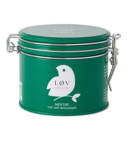 LOV ORGANIC Løv mint loose tea caddy 100g