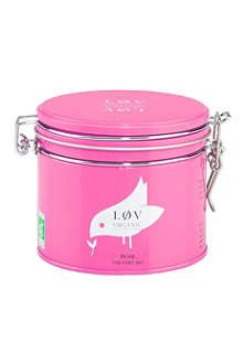 LOV ORGANIC Løv rose loose tea caddy 100g