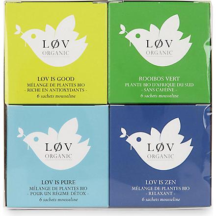 LOV ORGANIC Løv Wellness gift set 130g